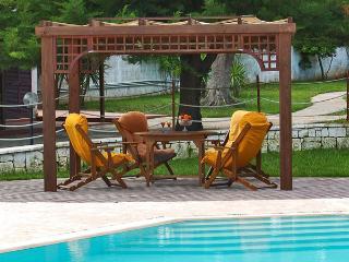 Gazebo near the swimming pool