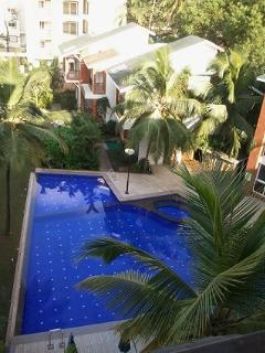 Pool from apartments