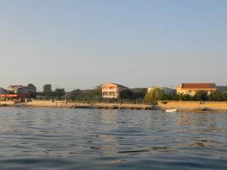 Villa Korali on the beach