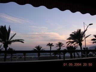 En primera linea de playa, Almería