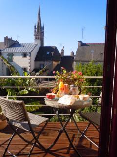 terrasse idéale petit dejeuner