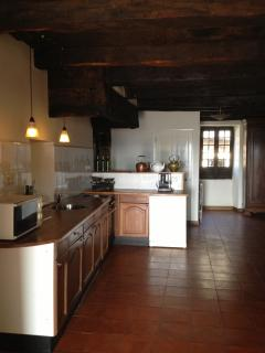 Our fully equipped, fitted kitchen.