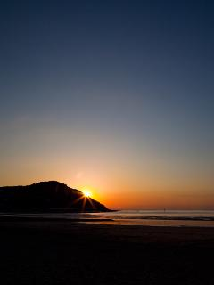 Sunset at Minehead
