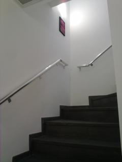 The Duplex Stairs Banister added for Safty purposes