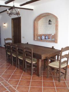 Dinning Table for 10/12 people.