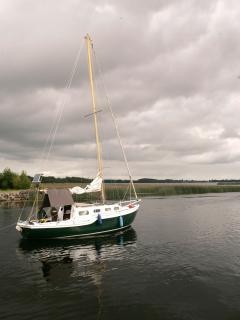 boat on lough derg
