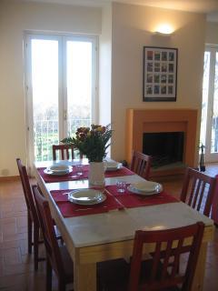 Le Caiole Ciliegio / Cherry. The living room.