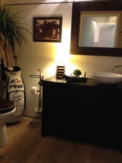 Salle de bains du rez de chaussée