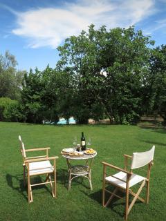 Le Caiole Ciliegio / Cherry. The garden.