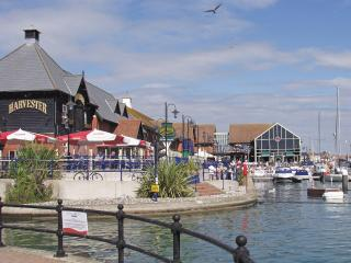 The bustling Sovereign Harbour offers lots of entertainment