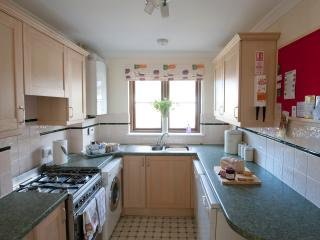 Fully equipped kitchen for all your cooking needs