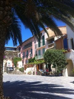 Port house beside Collioure