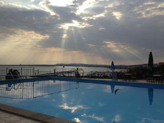 Dolce Vita Pool across bay from St Vlas