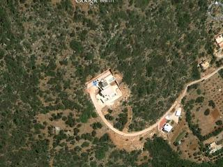 Google Earth shot of Aloni Villas