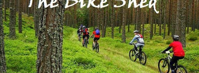 Bike hire on site