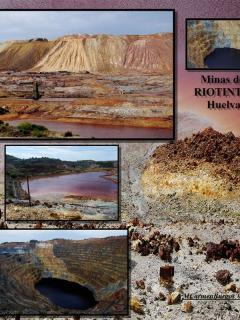 The 'Minas de Riotinto' natural park offers breathtaking and extraterrestrial-like landsca