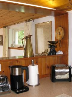 Exceptionally well equipped kitchen