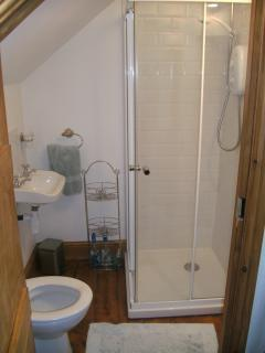 Ensuite With Shower, Toilet and Wash Hand Basin