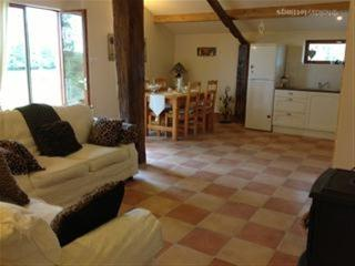 Lovely open plan showing woodburner ideal for winter let also