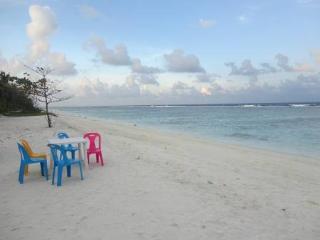 Beach, just 7 minutes walk away