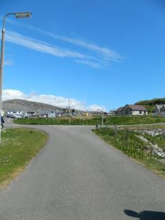 Play Park, Scalpay, a 2 minute walk from Bannatyne House, Holiday Harris!