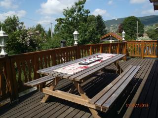 Terrasse sur balcon coté salon