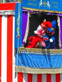Punch & Judy on the Seafront