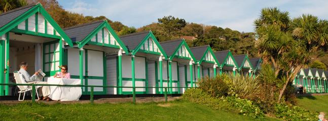 Exclusive use of beach hut at Langland Bay