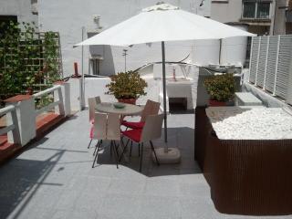Apartamento playa  para 8 pe, Sitges