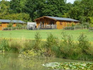 Log cabin with Hot tub and Free Fishing Bluebell, Stamford