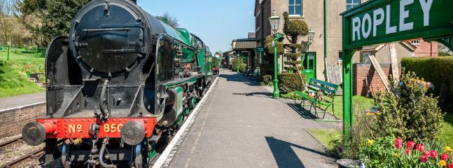 Historical Ropley Station