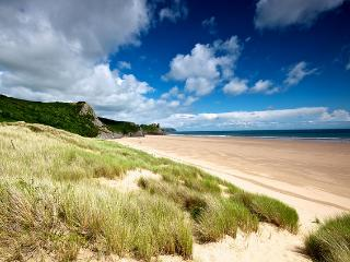Oxwich Bay on the Gower Peninsular,just one of many stunning bays and beaches