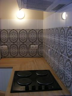 The modern & well equipped kitchen - come on, get cooking with local delicacies!