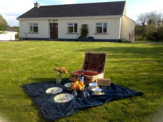 Ready for a picnic on the lawn outside Blackberry Cottage?