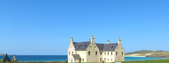 Balnakeil House on the beach