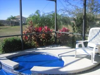 Private south-west facing lanai with private pool
