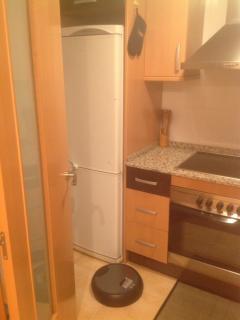 Cocina, nevera , horno, vitro ,  campana y lavavajillas