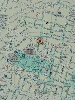 In the center of Paris, easy to walk everywhere or move with many metro lines