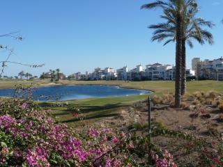 Stunning view across the golf course from the front gate of La Torre.