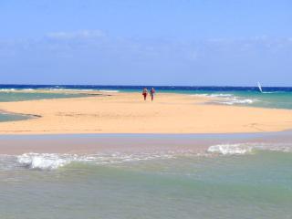 Cerca de las playas de Sotavento. Las mejores playas de Europa.