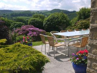 Fabulous views from the sunny south facing patio