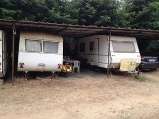 Caravan in the farm, Portoferraio