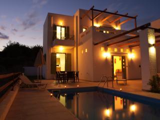 Villa Alexander at night