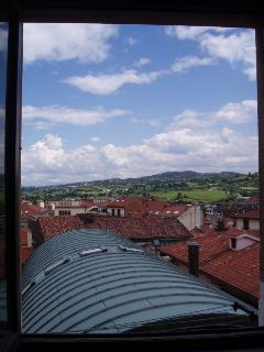 Vistas desde la cocina, tejado Museo Bellas Artes