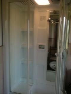 Cabina sauna-bagno turco