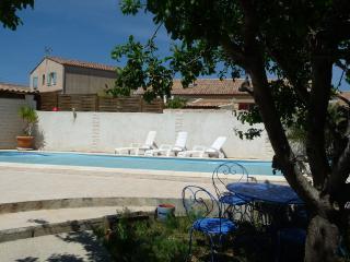 vue sur la piscine depuis votre terrasse