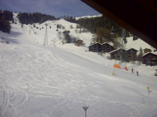 Hutt-on-the piste - ski in ski out  top position, Grimentz