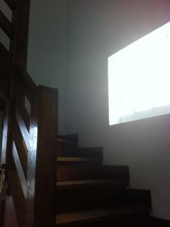 Escalier vers deuxième étage