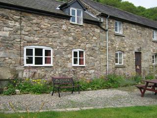 Erw Gerrig cottage. In the Ceiriog Valley