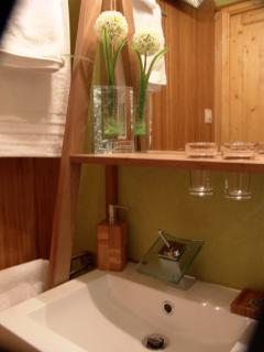 Salle de douche détail
